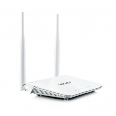 Tenda W3002R Wireless High Power Router Repeater 300Mbps 2x5dBi 2.4GHz 1xWAN 4xLAN